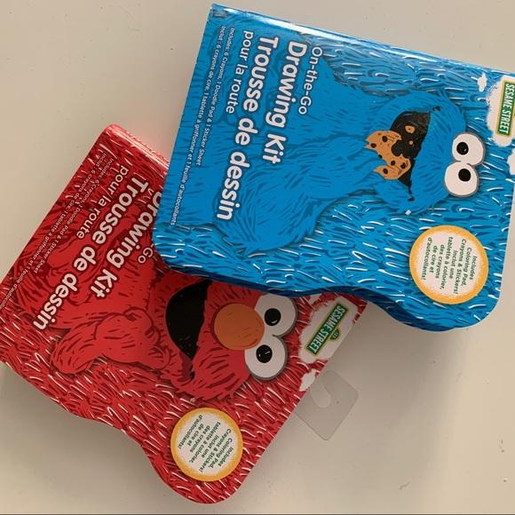 Sesame Street Other - 2 pk Sesame Street Drawing kit On The Go